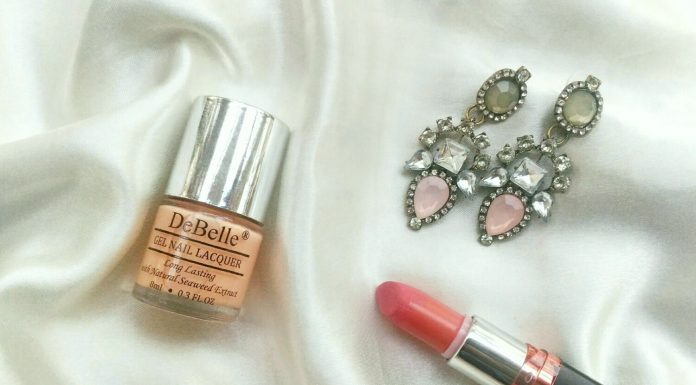 Review & Swatches | DeBelle Gel Nail Lacquer - Peachy Passion