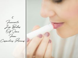 5 Favourite Lip Balms Of Soma From Cosmetics Arena