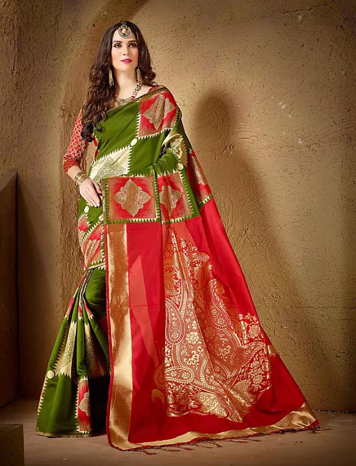 5 Types Of Silk Sarees & Their Origins