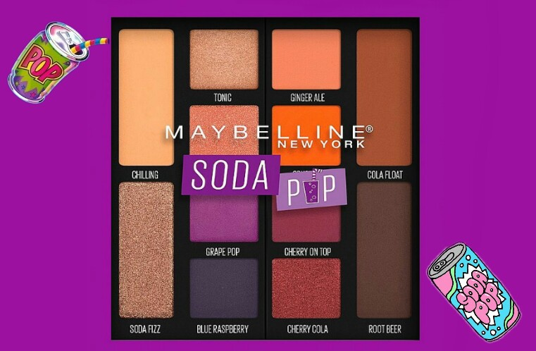 Just Launched Maybelline Soda Pop Eyeshadow Palette Swatches