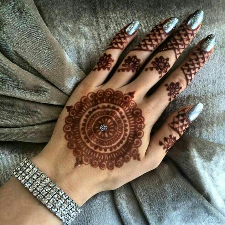 Adorable New Rakshabandhan Mehndi Designs For 2018 | Simple & Easy Rakshabandhan Mehndi Design To Try This Year | Simple Mehndi Designs For Beginners | Latest Rakhi Mehandi Designs | Mandala Mehndi Designs