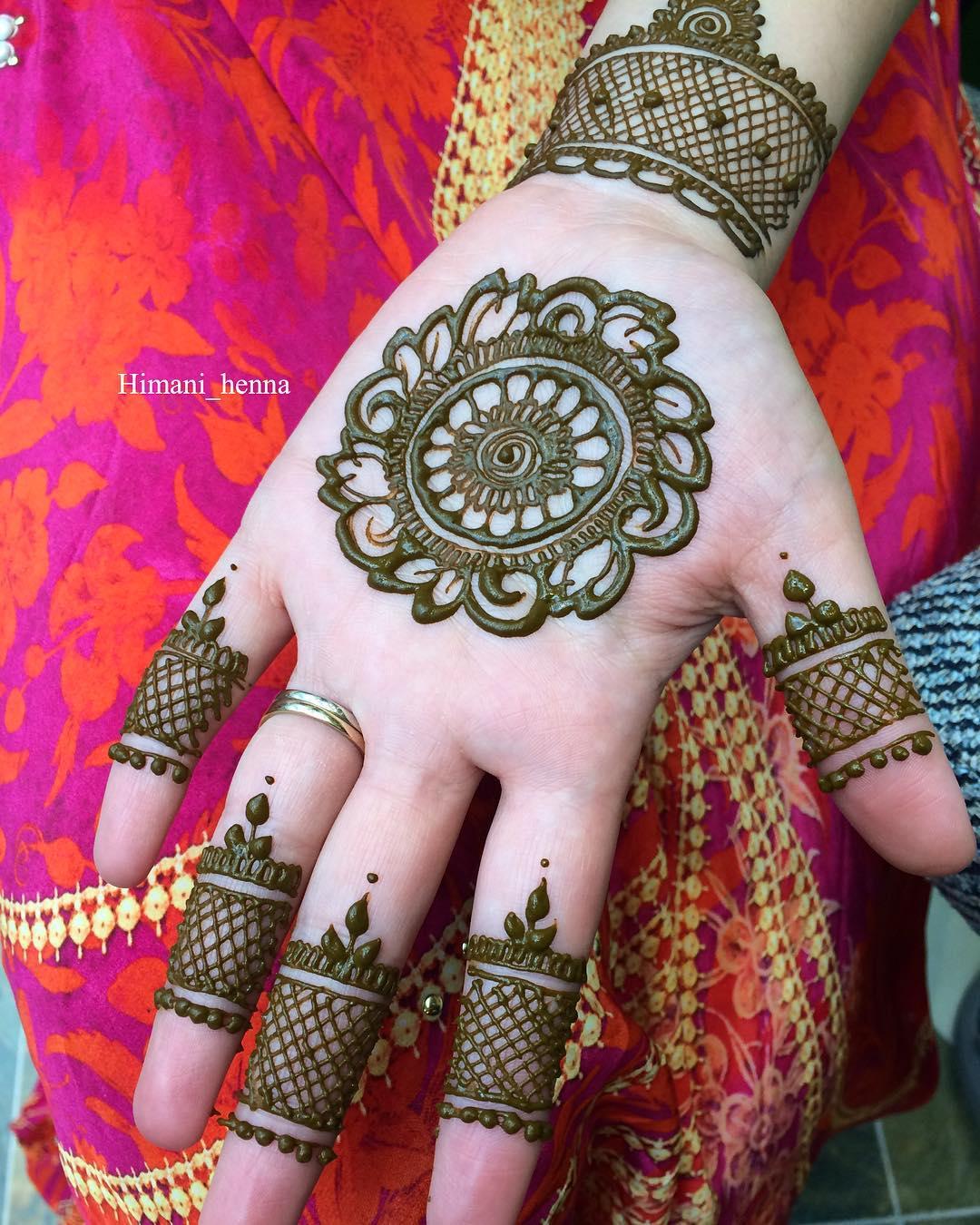 25 New Rakshabandhan Mehndi Designs For 2018 Rakhi Mehndi Design