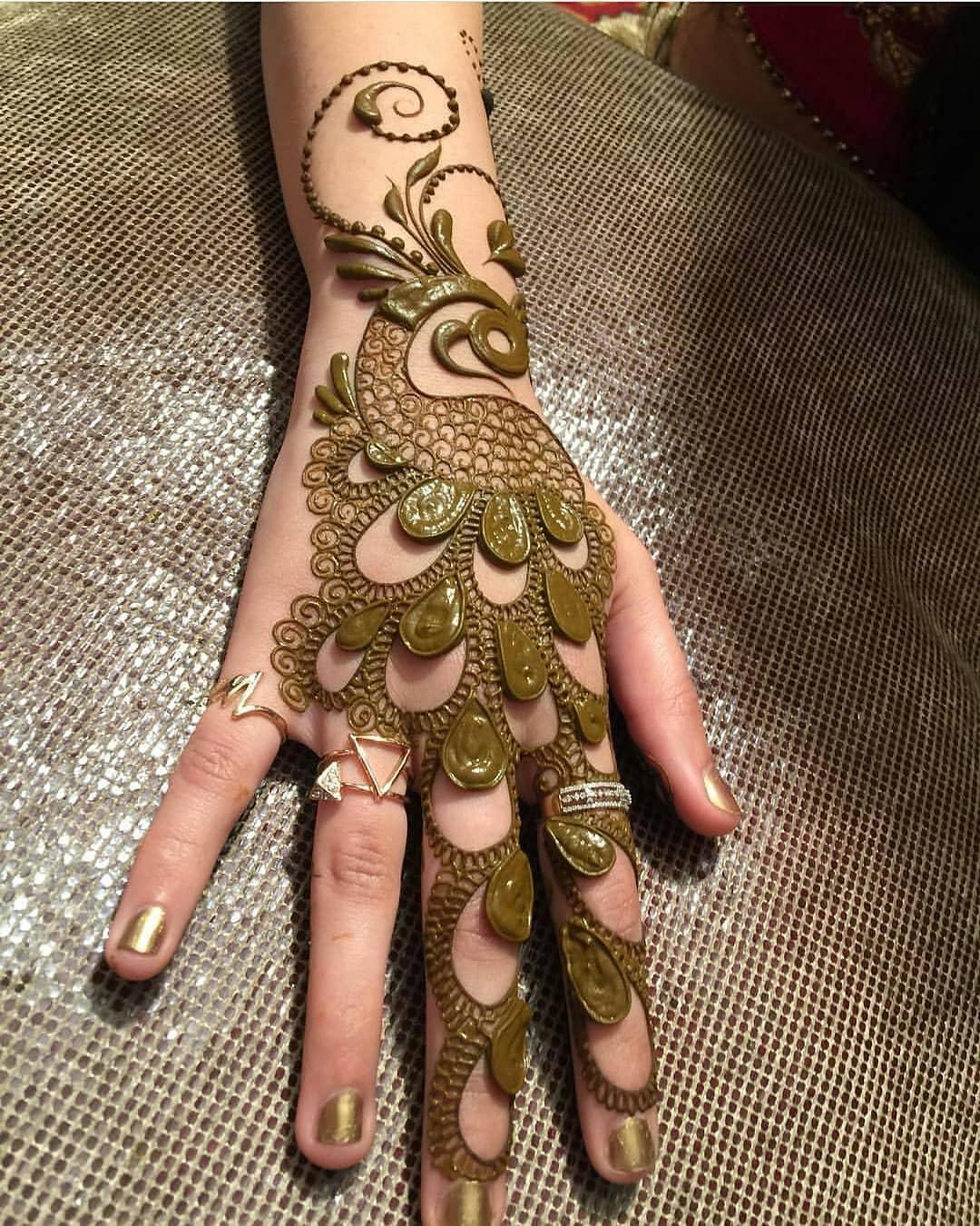 Adorable New Rakshabandhan Mehndi Designs For 2018 | Simple & Easy Rakshabandhan Mehndi Design To Try This Year | Simple Mehndi Designs For Beginners | Latest Rakhi Mehandi Designs | Peacock Mehndi Designs
