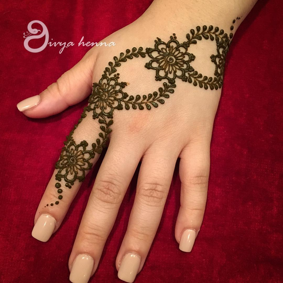 Adorable New Rakshabandhan Mehndi Designs For 2018 | Simple & Easy Rakshabandhan Mehndi Design To Try This Year | Simple Mehndi Designs For Beginners | Latest Rakhi Mehandi Designs | Diagonal Mehndi Designs