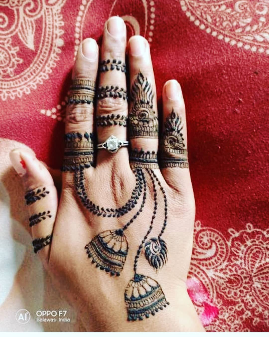 25 New Rakshabandhan Mehndi Designs For 2018 Rakhi Mehndi Design