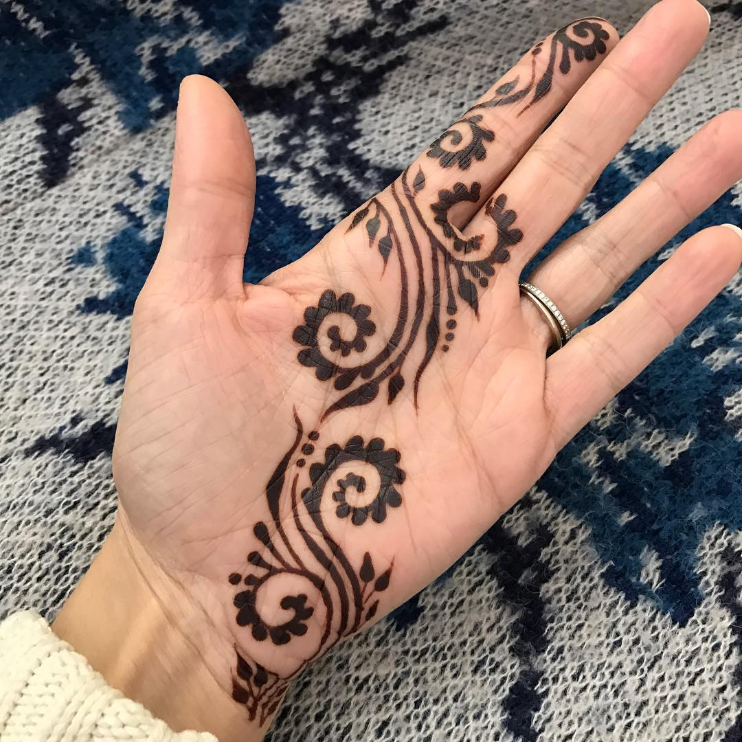 Simple Mehndi Designs For 2018 To Try | Trendy Mehendi