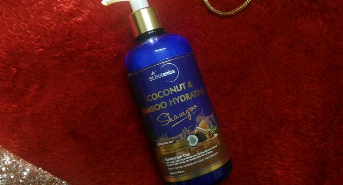 Review | St. Botanica Coconut & Bamboo Hydrating Shampoo - Best Hydrating Shampoo For Dry Hair, Shampoo For Frizzy Hair, Best Shampoo For Dry Damaged Hair, Natural Shampoo for Dry Hair, SLS Free Shampoo for Dry Hair