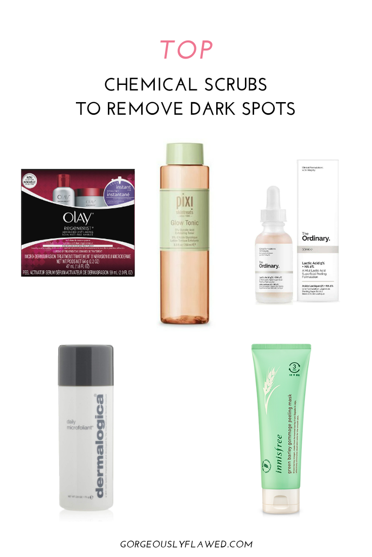 Top Chemical Scrubs To Remove Dark Spots - How To Remove Dark Spots On Legs