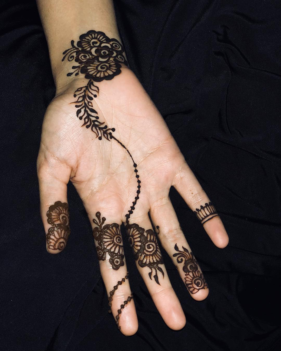 Simple Mehndi Designs For 2018 To Try