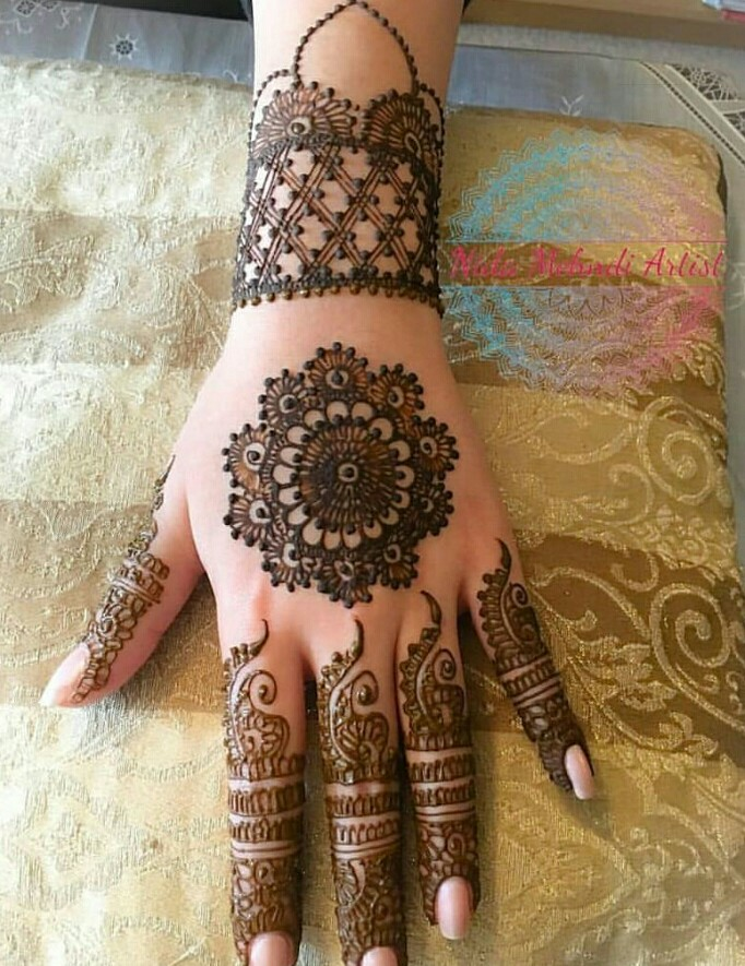17+ Beautiful Hartalika Teej Mehndi Designs 2018