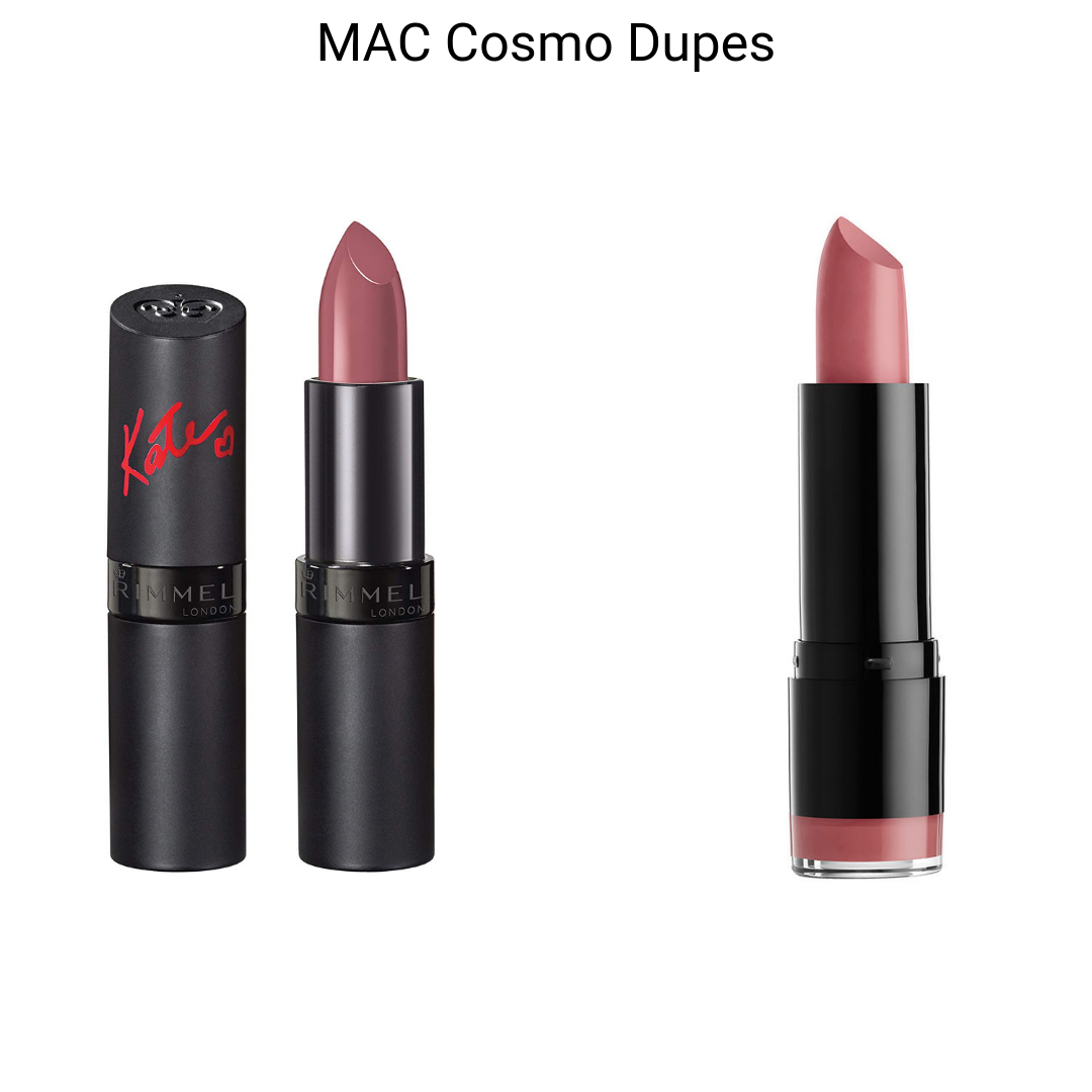 MAC Lipstick Dupes - MAC Cosmo Lipstick Dupes