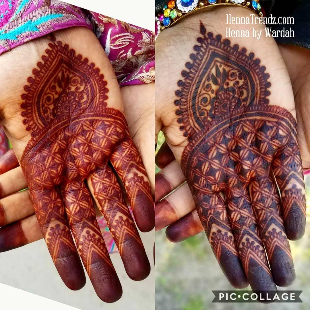 Karwa Chauth Mehndi Designs Photos & Inspirations: Latest Mehndi Designs For Karwa Chauth 2018