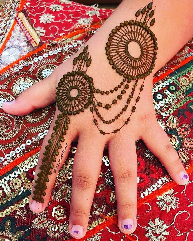 15 Best Mehndi Designs For Navratri 2018 Photos Inspirations
