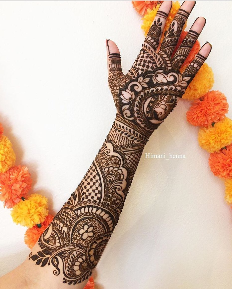 50+ New Bridal Mehndi Designs 2019 - Top Mehandi Design Trends For The Year 4