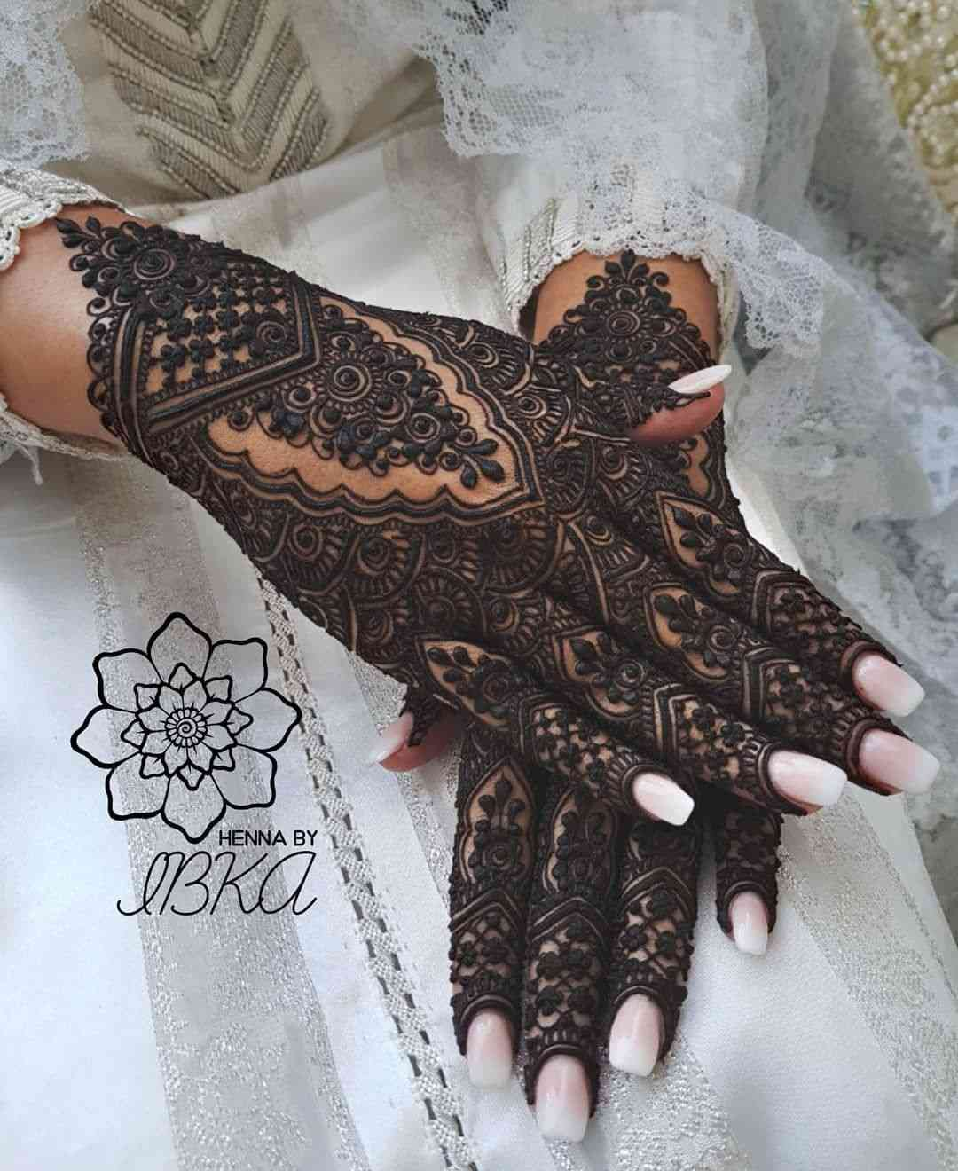 Trending Mehndi Designs 50 Latest Henna Tattoo Ideas For 2018: 50+ New Bridal Mehndi Designs 2019