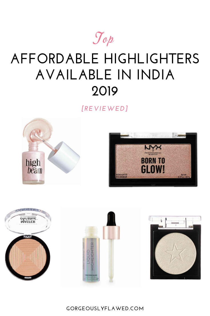 Top Affordable Highlighters Available In India 2019 [Reviewed]