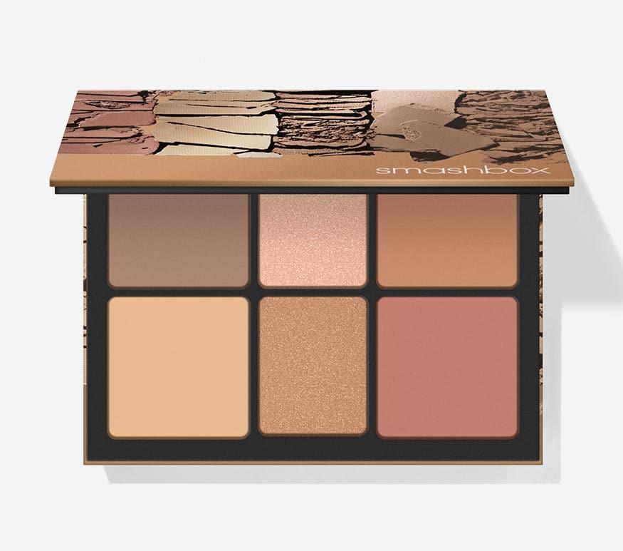 SmashBox The Cali Palette - best contour highlight blush palette india