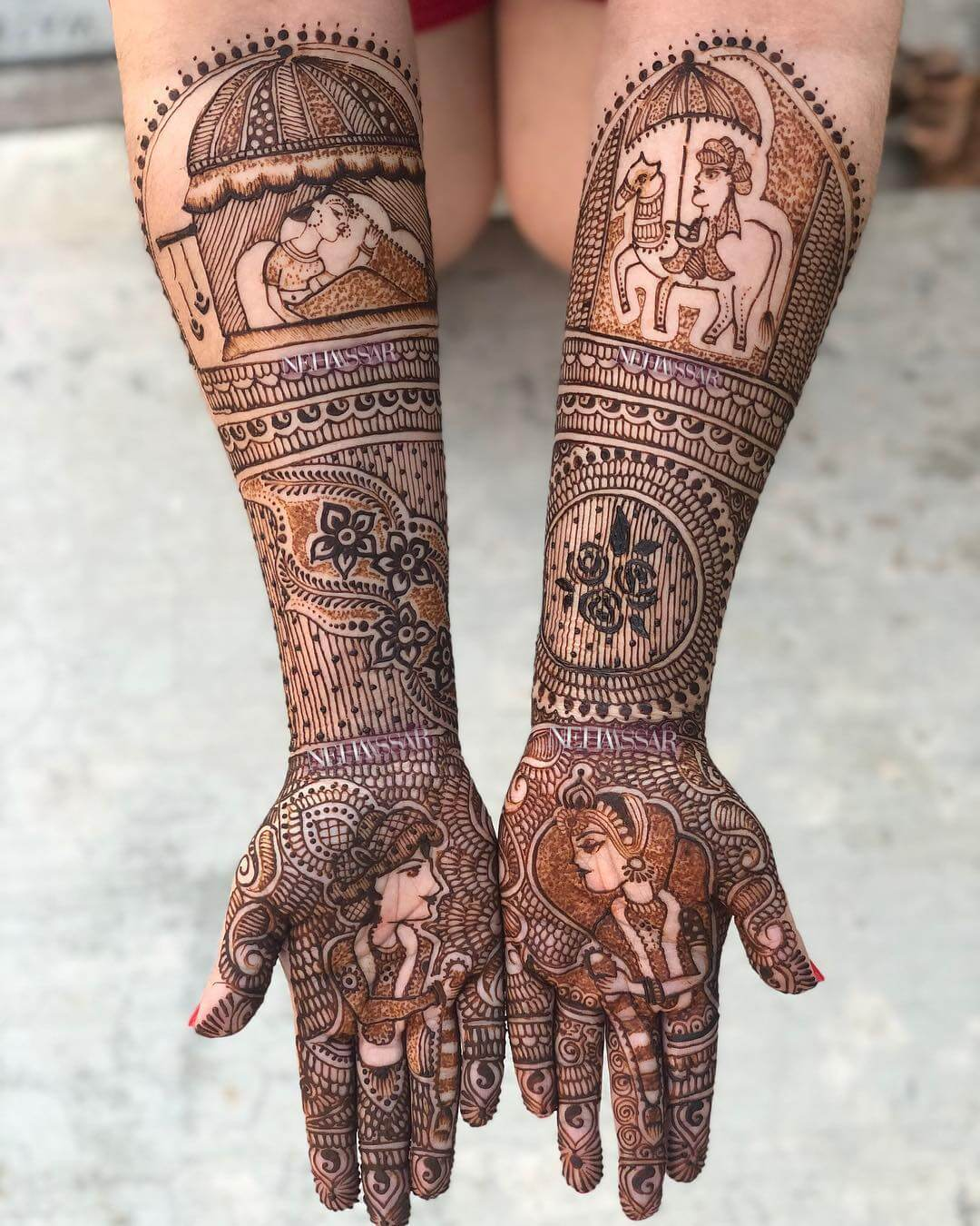 50+ New Bridal Mehndi Designs 2019 - Top Mehandi Design Trends For The Year 1
