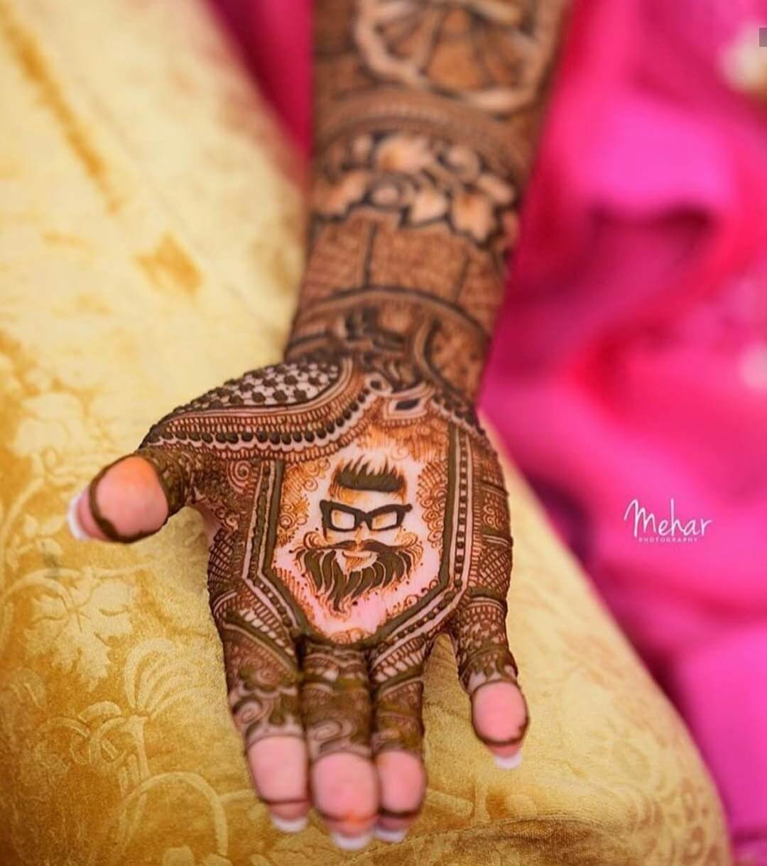 groom mehndi design 2019