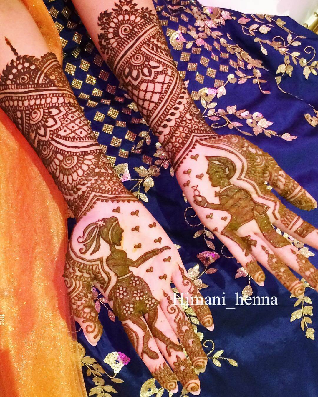 the proposal mehndi design