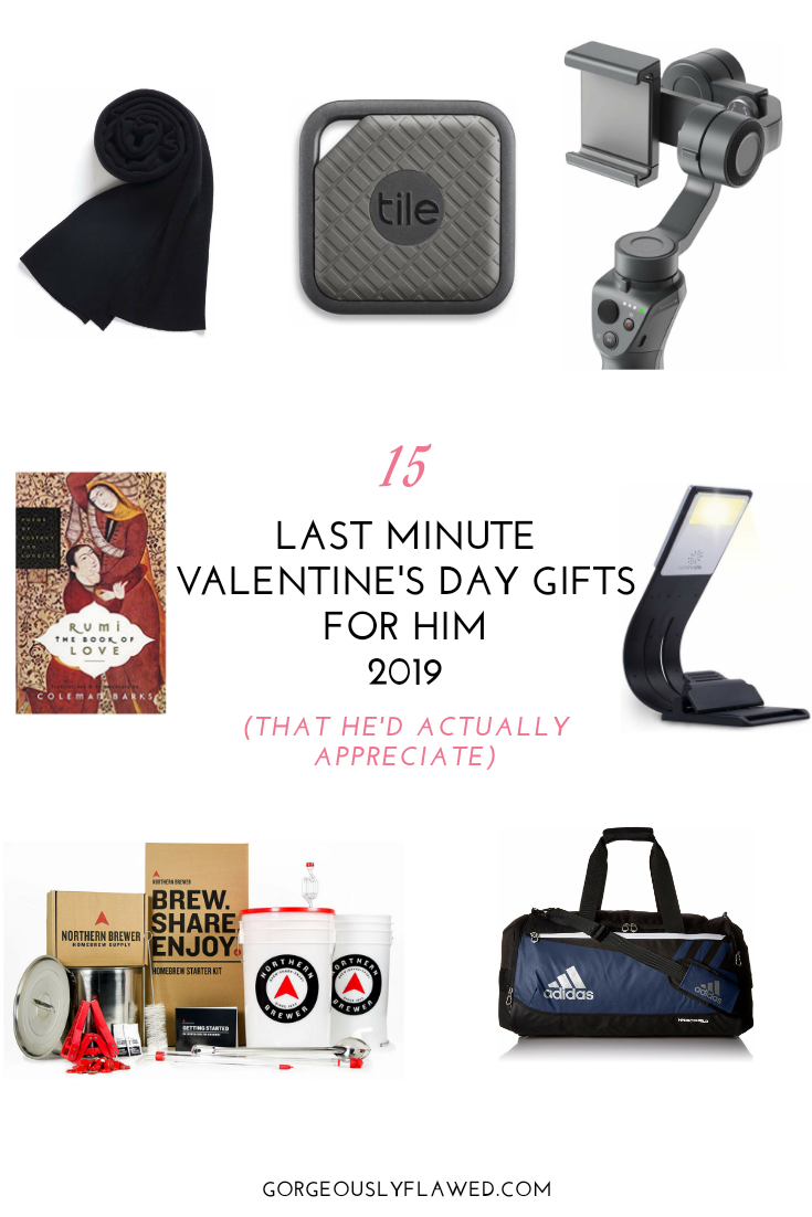 15 Last Minute Valentine's Day Gifts For Him 2019 (That He'd Actually Appreciate)