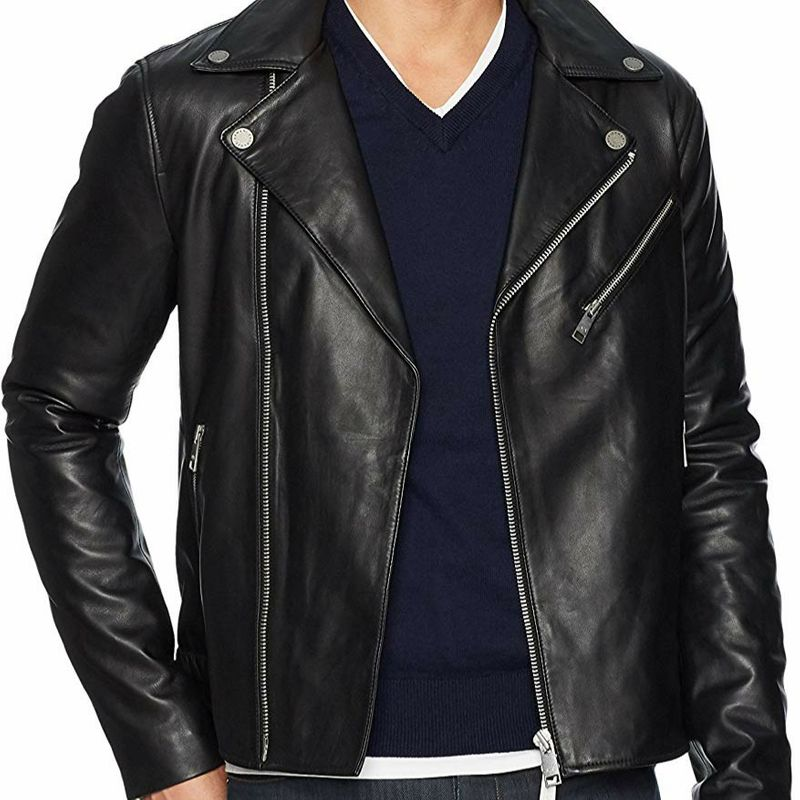 Armani Leather Jacket - latest valentine's day gifts for boys
