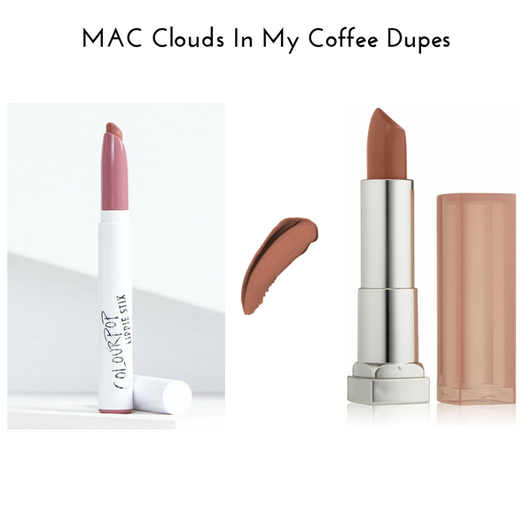 MAC Clouds In My Coffee Dupes