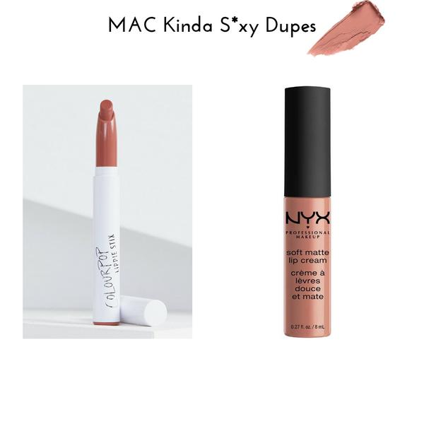 MAC Kinda S*xy Dupes
