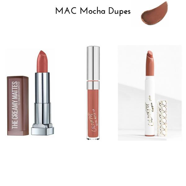 MAC Mocha Dupes