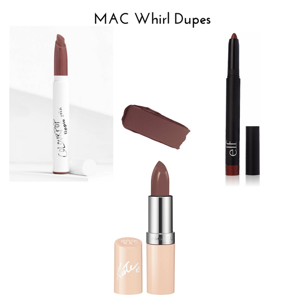 MAC Whirl Dupes