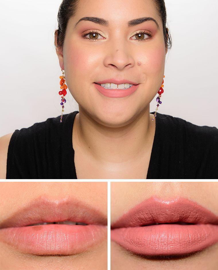 Nude Lipsticks From MAC - MAC Kinda Sexy ©Temptalia