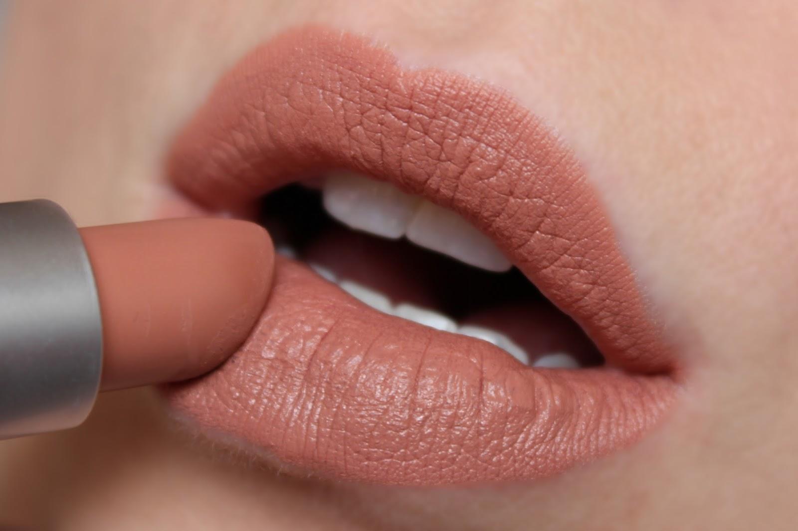 Nude Lipsticks From MAC - MAC Honeylove ©britishbeautyaddict