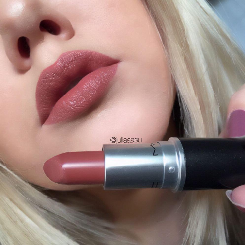 Nude Lipsticks From MAC - MAC Taupe @juliaaasu