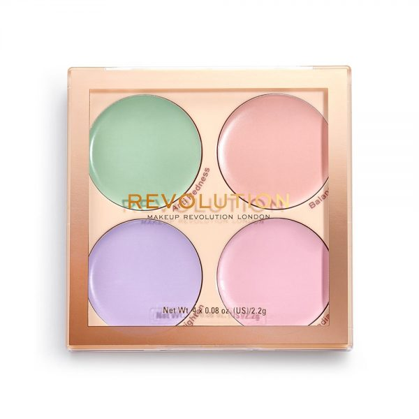 Revolution Matte Base Corrector Kit Review Swatches