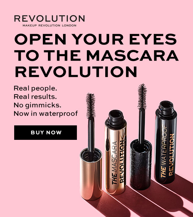 Just Launched | Revolution The Waterproof Revolution Mascara 2