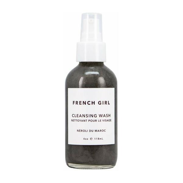 French Girl Organics - Organic/Vegan Charcoal + Neroli du Maroc Cleansing Wash | best organic vegan facial cleanser