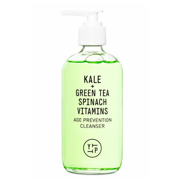 YOUTH TO THE PEOPLE Kale + Green Tea Spinach Age Prevention Cleanser | best vegan face wash for aging skin