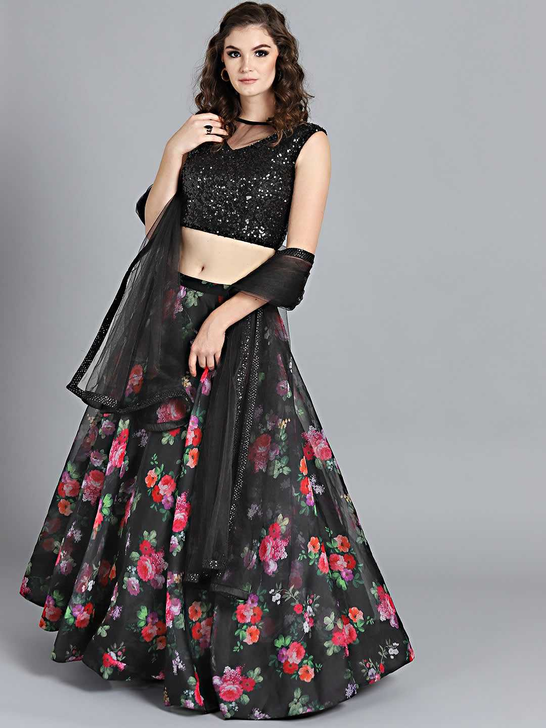 12 Breathtaking Black Lehenga Inspirations You Gotta See