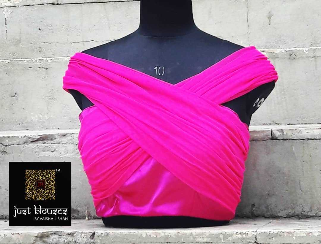 Bandage Top Blouse Design