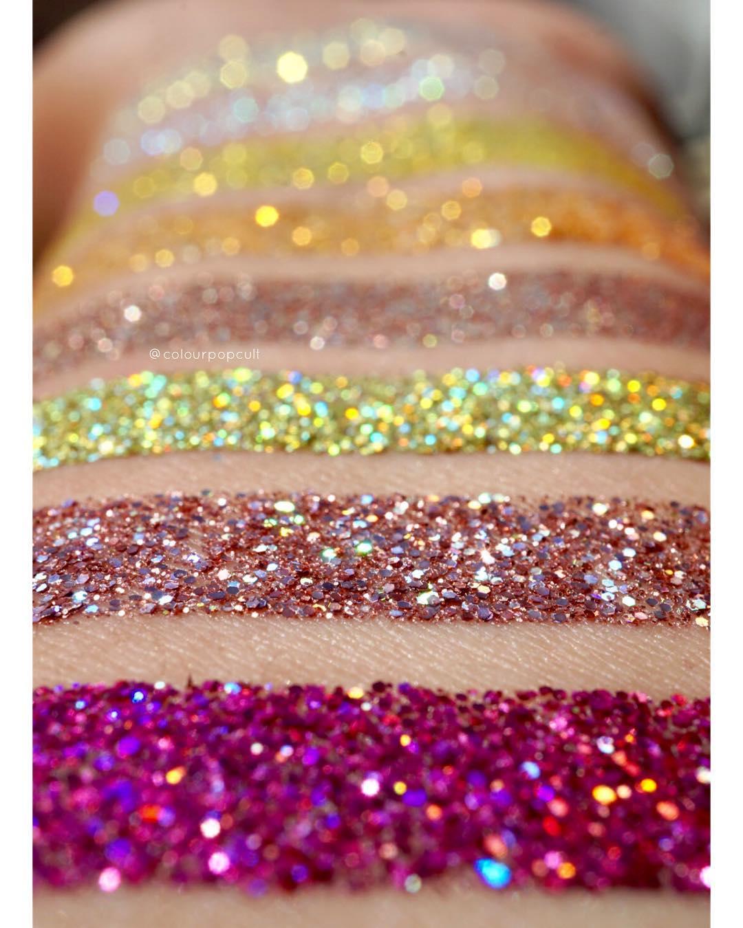 ColourPop Festival Pressed Glitters Price & Swatches
