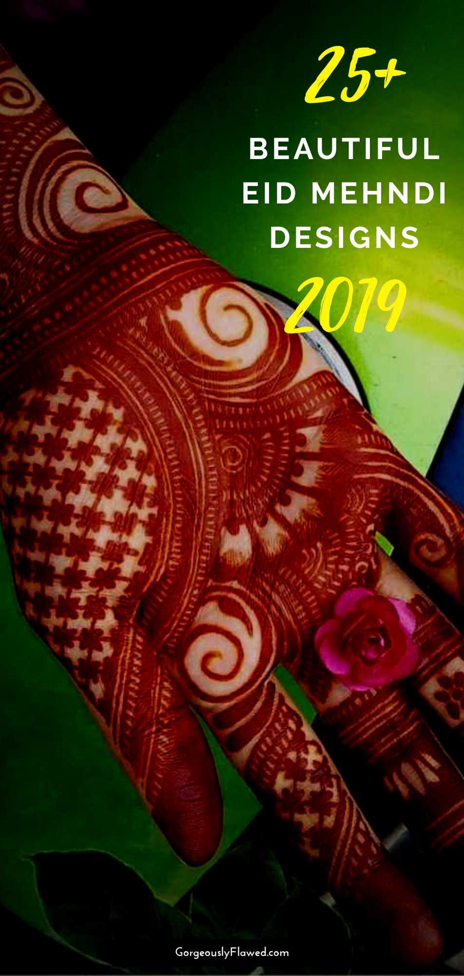 Beautiful Eid Mehndi Designs 2019