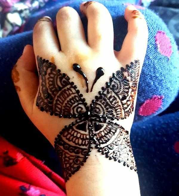 Kids Mehndi Design For Eid