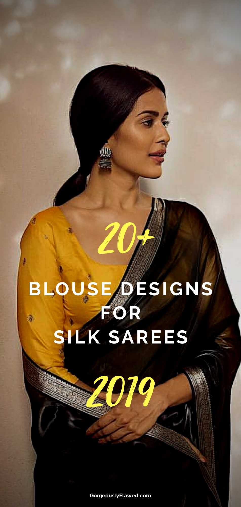 20+ Blouse Designs For Silk Sarees