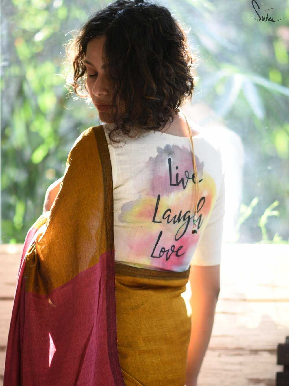 Quirky Blouses For Saree