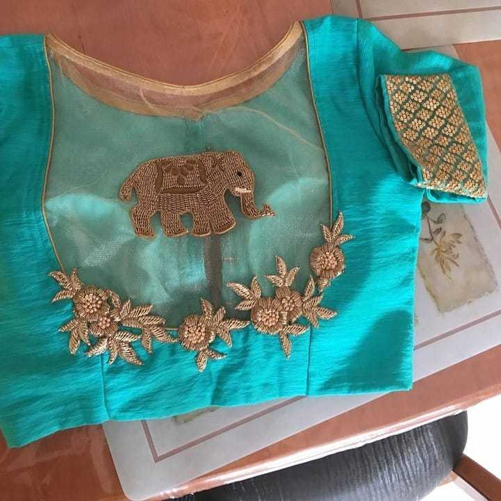 Back Side Blouse Design New 2019