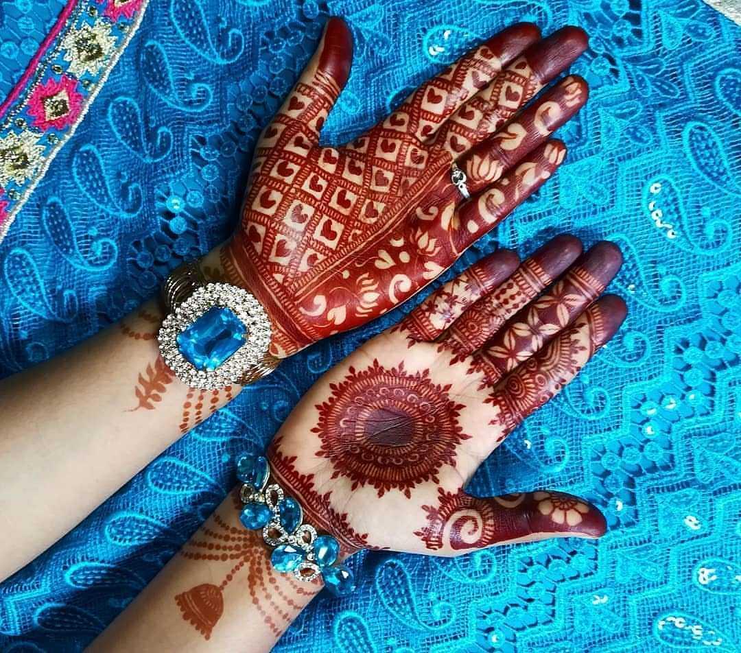Bakri Eid Unique Mehandi Design