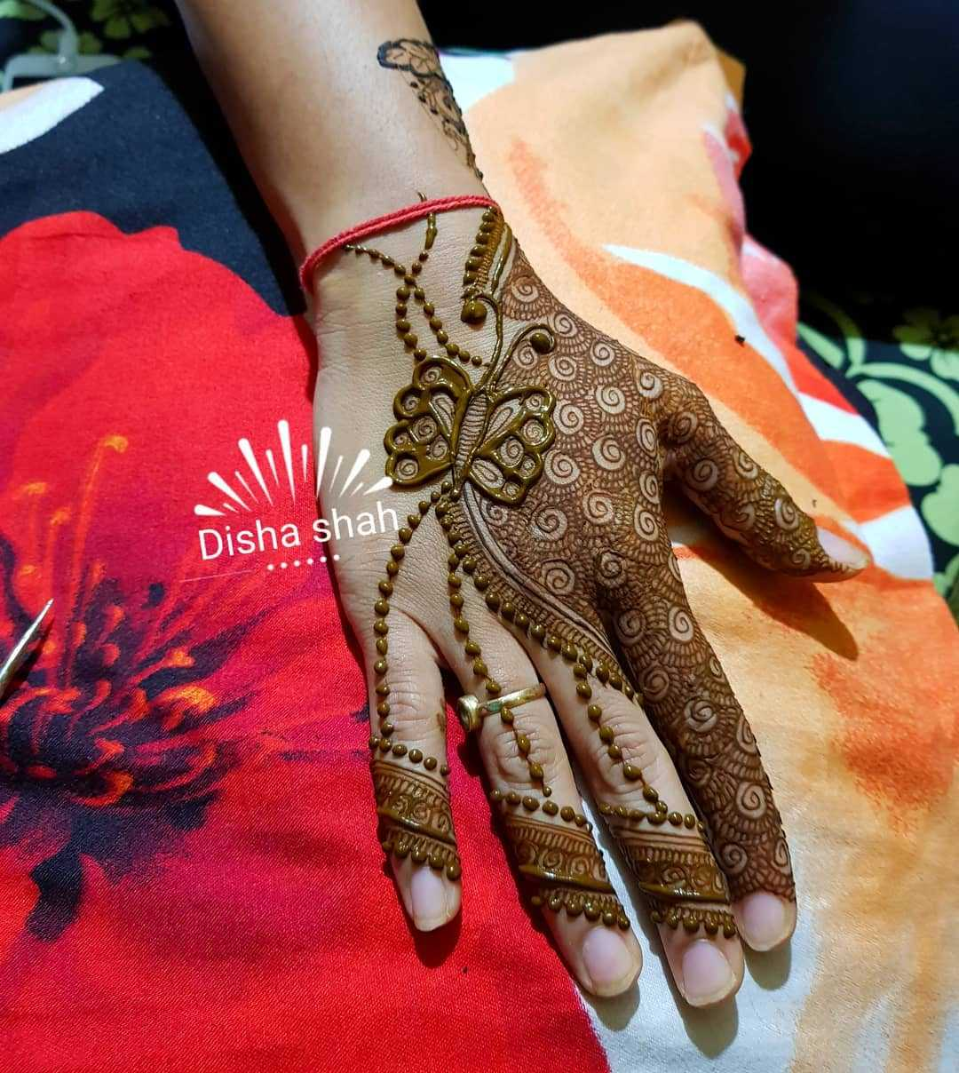 Butterfly Mehndi Design