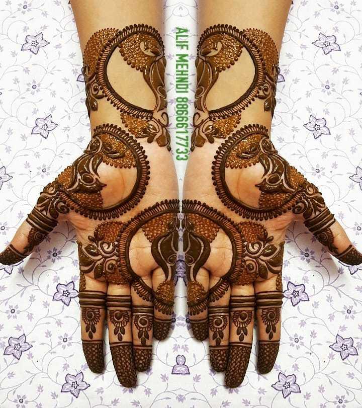 Creative Rakshabandhan Mehndi Designs 2019