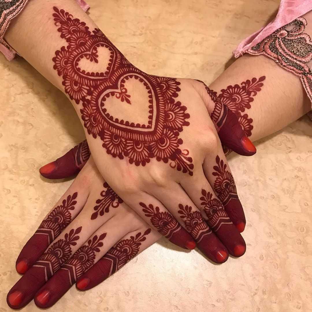 Eid Back Of The Hand Mehndi Design