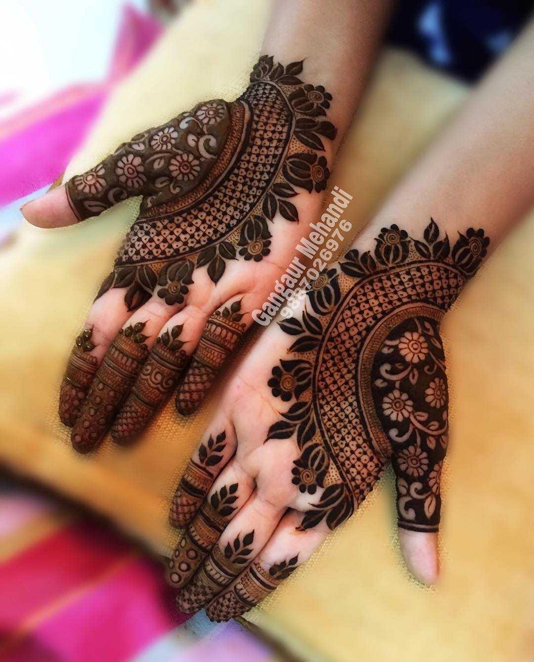 25 Gorgeous Rakshabandhan Mehndi Designs 2019 Latest Rakhi Mehndi Design Images